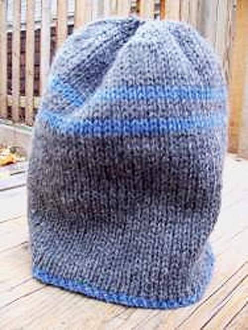 Ski Cap - double knitting projects