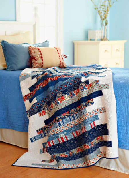 Skinny Strips - strip quilt patterns