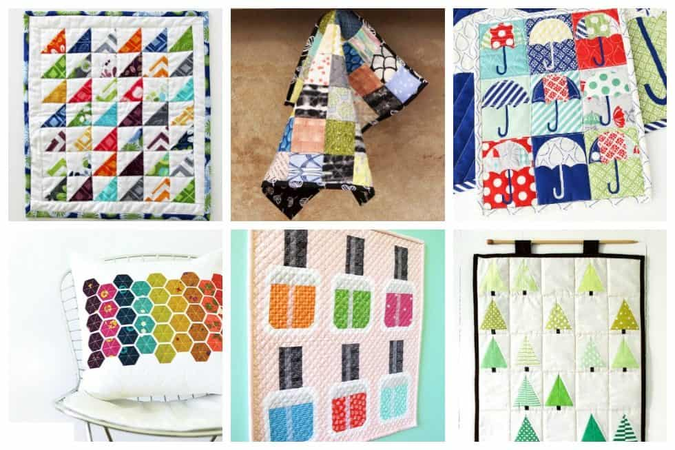 40 Mini Quilt Patterns You Can Make With Scrap Fabric Ideal Me Extraordinary Mini Quilt Patterns