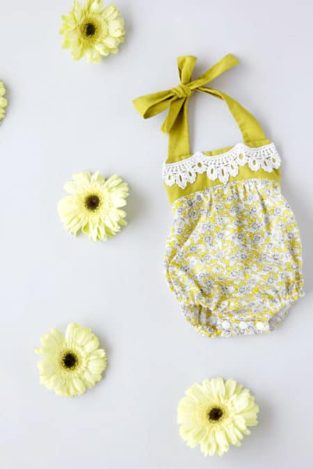 Boho Baby Romper - things to sew