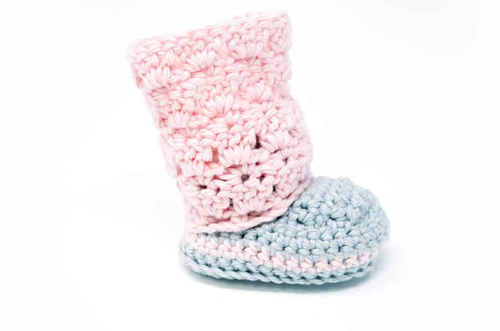 Primrose Baby Boots Crochet Pattern Ideal Me