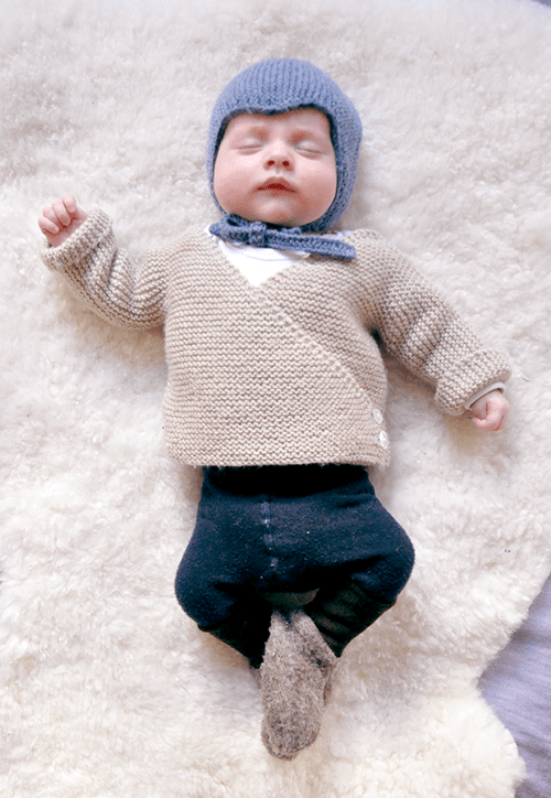 Baby Cardigan - pattern ideas for knitting