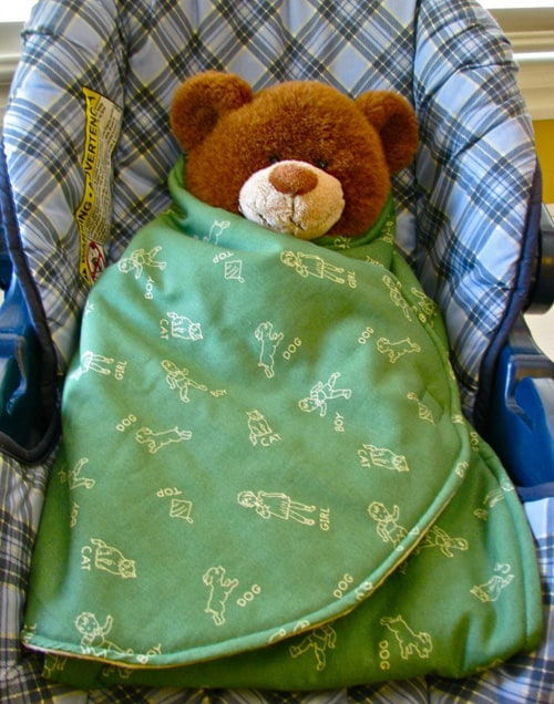 Car Seat Swaddle Blanket