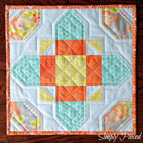 Celtic Cross - beginner quilt patterns