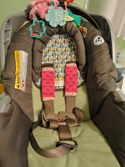 Comfy Car Seat Shoulder Straps
