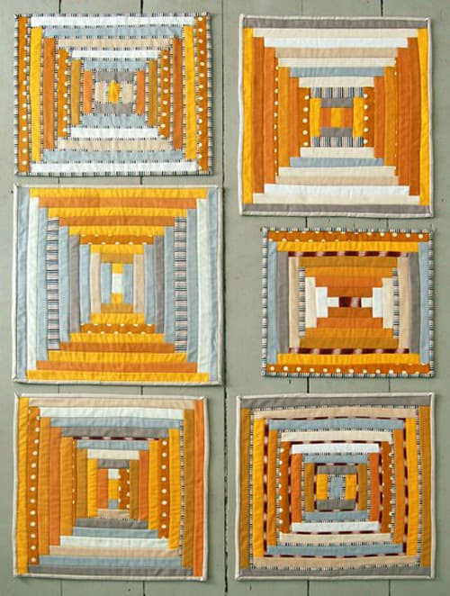 Courthouse Steps - beginner quilt patterns