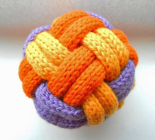 Decorative Toy Ball - pattern ideas for knitting