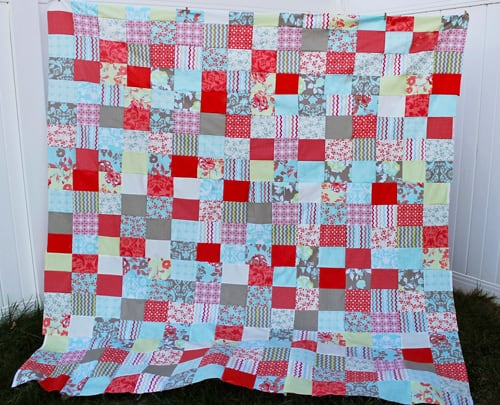 Easy Peasy Fat Quarter - beginner quilt patterns