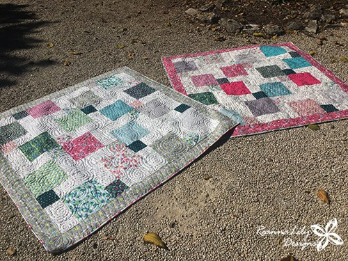 Layer Cake Disappearing 9-Patch Baby Quilt - beginner quilt patterns