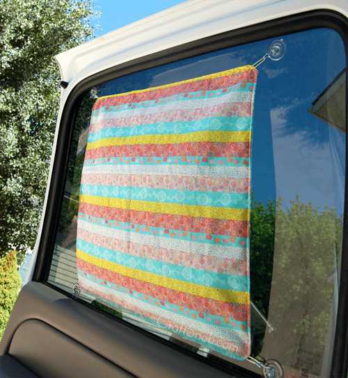 Reversible Car Sunshade