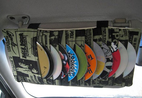 Visor CD Holder