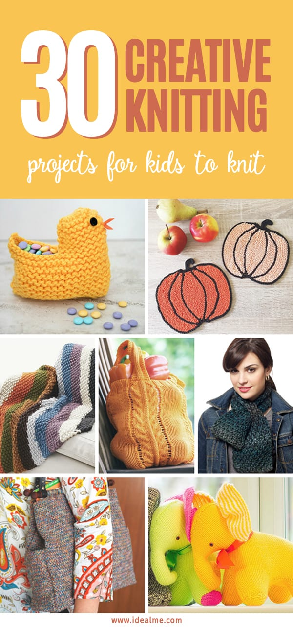 30 Creative Knitting Projects For Kids To Knit Ideal Me