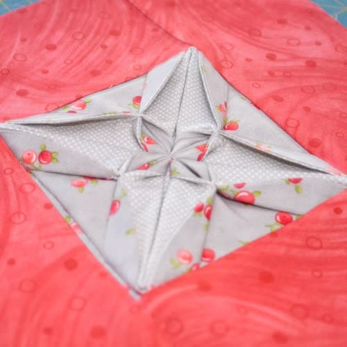 Fabric Origami Quilt Blocks