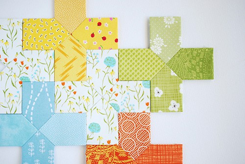 On the Plus Side Quilt Blocks