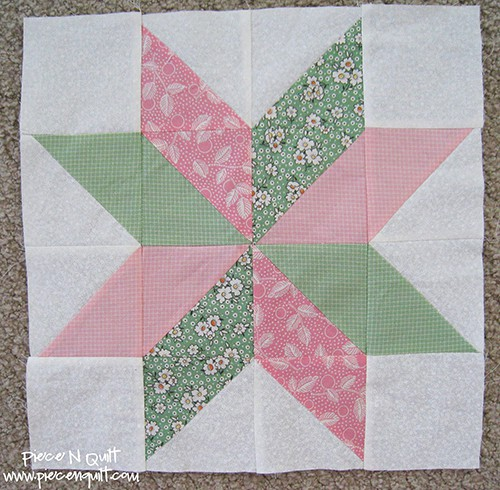 Star Flower Quilt Blocks