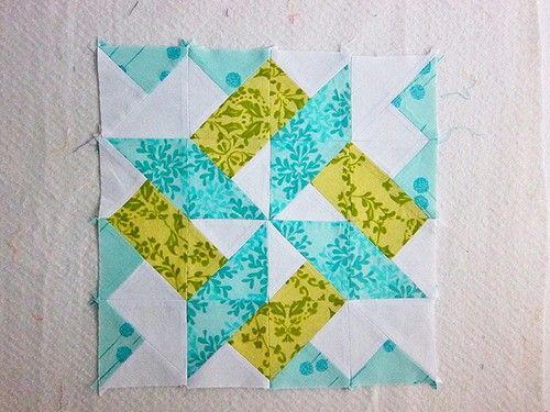 Starry Skyline Quilt Blocks