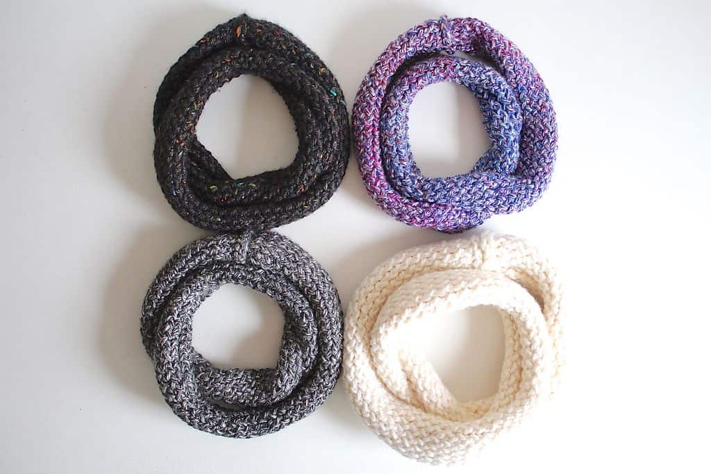 Infinity Scarf On A Loom