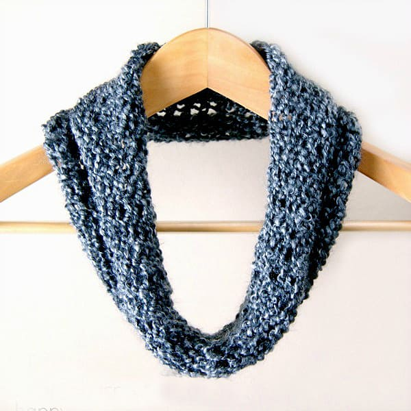 Beginner's Loom-Knit Cowl