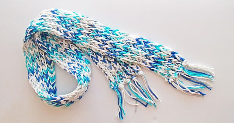 Loom Knit Scarf for Beginners