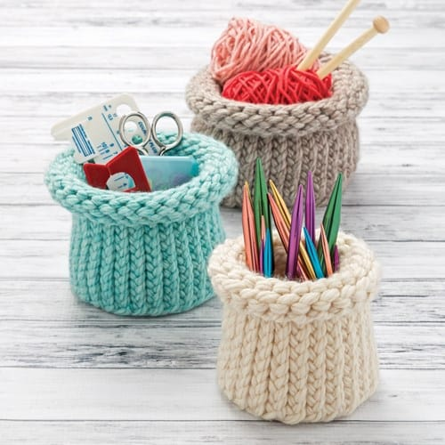 Knitted Nesting Baskets