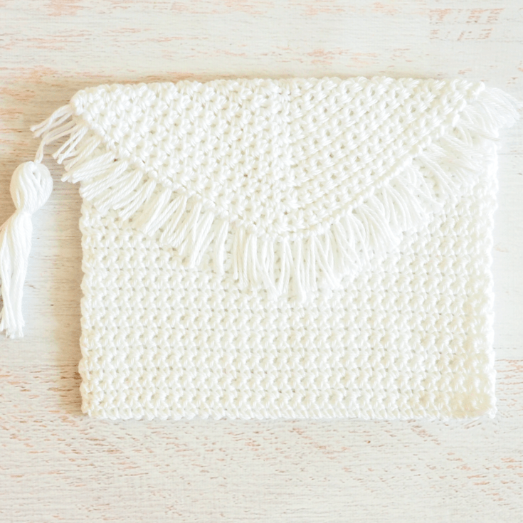 Fringe Clutch Crochet Pattern Ideal Me Best Crochet Design Patterns