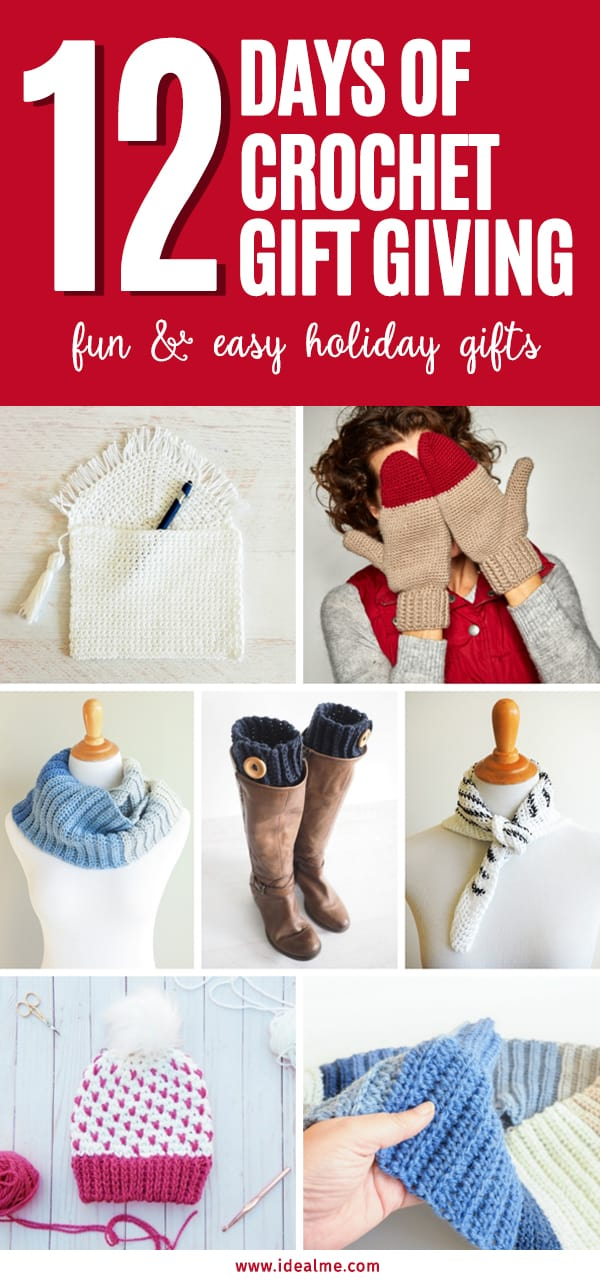 I've put together this convenient list of some of my favorite fun & easy holiday gift ideas. #crochetpatterns #crochetaddict #crochetlove