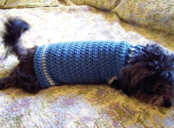 Size S Dog Sweater