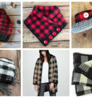 Top 13 Plaid Themed Crochet Patterns