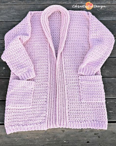 Hygge Homebody Crochet Cardigan