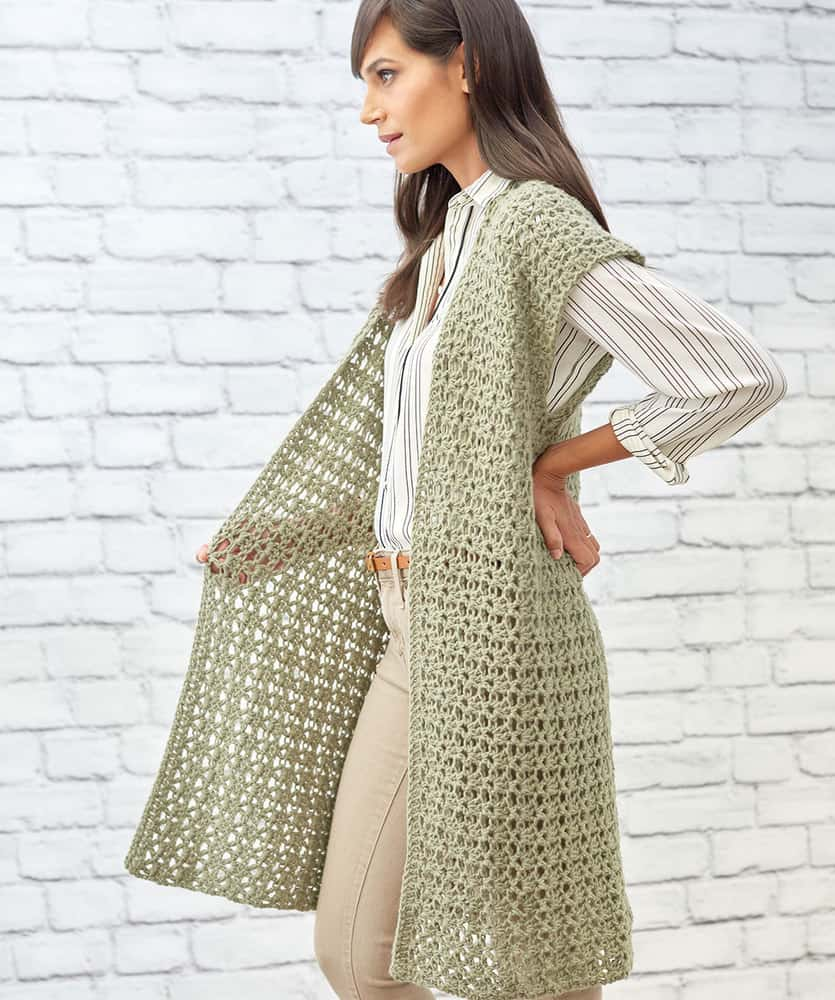 Sage Stitch Long Cardigan