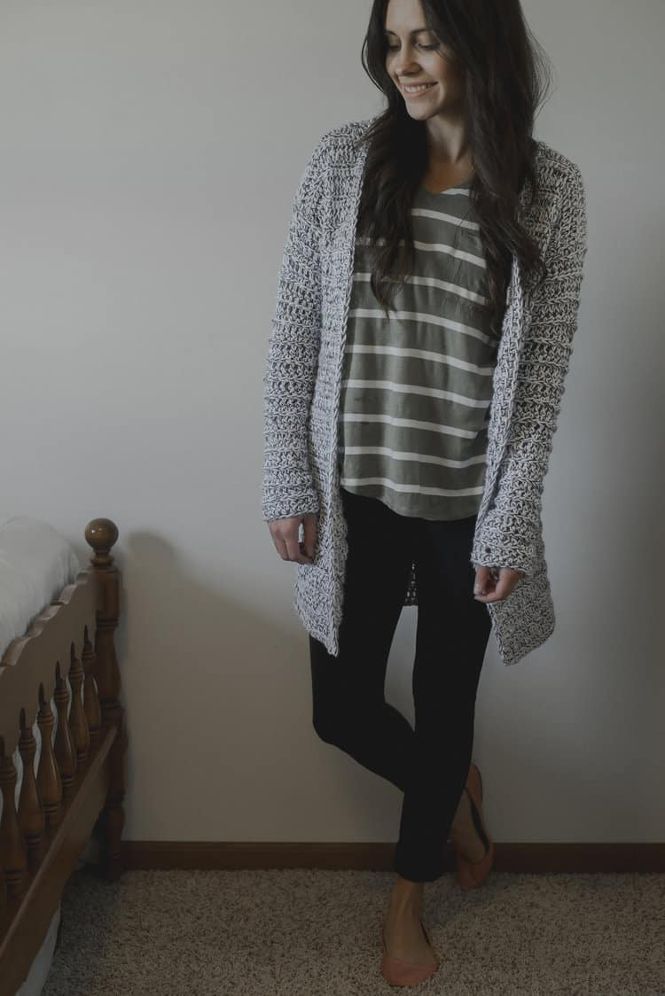 The Marley Cardi-A Long & Chunky Cardigan Sweater