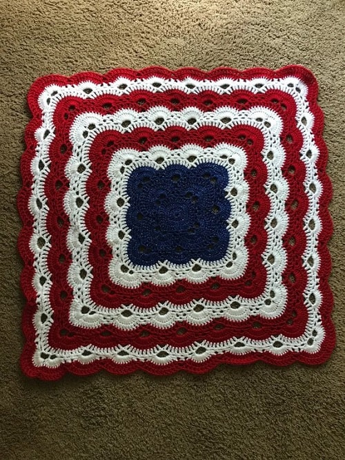 Baby Virus Blanket - Whether it's an easy crochet blanket you're after or something more complex, these crochet blanket patterns have something for everyone. #crochetblanketpatterns #crochetpatterns #crochetblanket, #crochet #freecrochetpatterns
