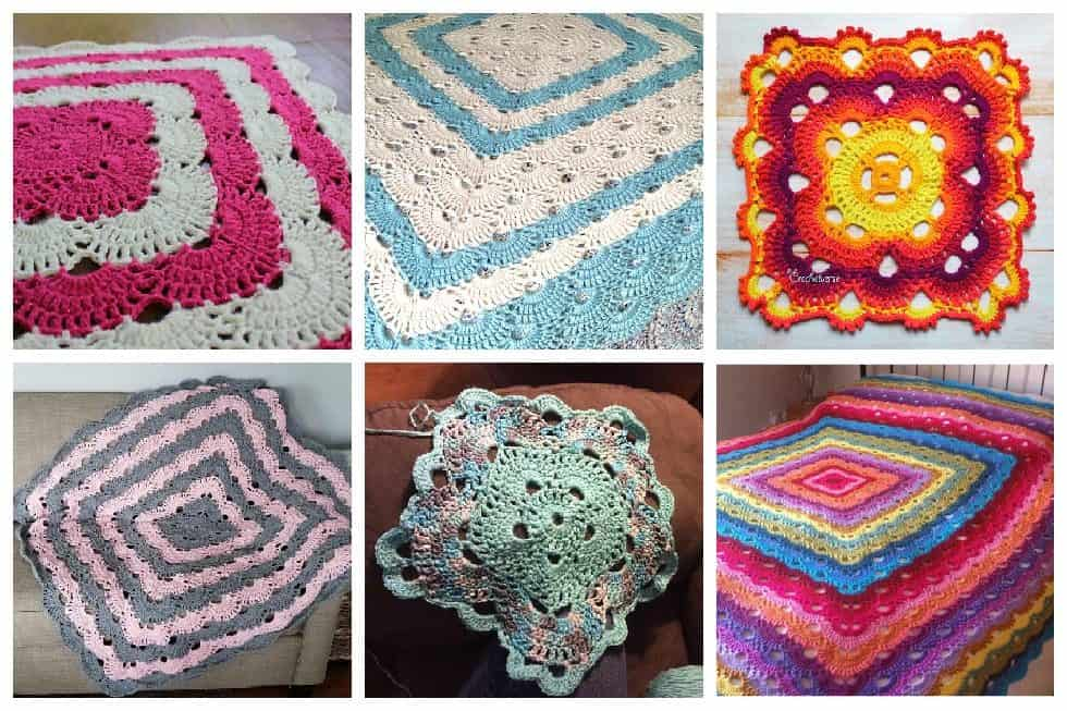 Whether it's an easy crochet blanket you're after or something more complex, these crochet blanket patterns have something for everyone. #crochetblanketpatterns #crochetpatterns #crochetblanket, #crochet #freecrochetpatterns