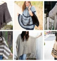 18 Free Crochet Poncho Patterns