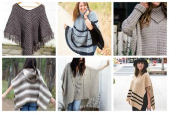 If you want to learn how to make a poncho, this list of 18 free crochet poncho patterns will help you. Pick your favorite from this bunch and start creating. #CrochetPonchoPatterns #FreeCrochetPatterns #CrochetAddict