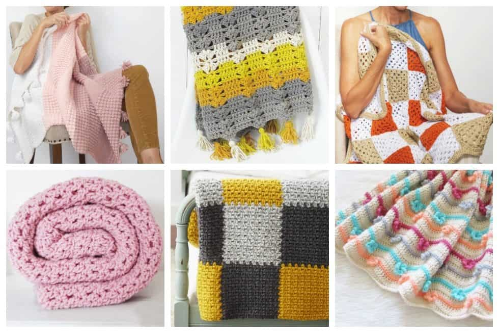 24 Crochet Afghan Patterns For Beginners Ideal Me