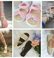 10 Adorable Crochet Sandals That Are Perfect For Summer
