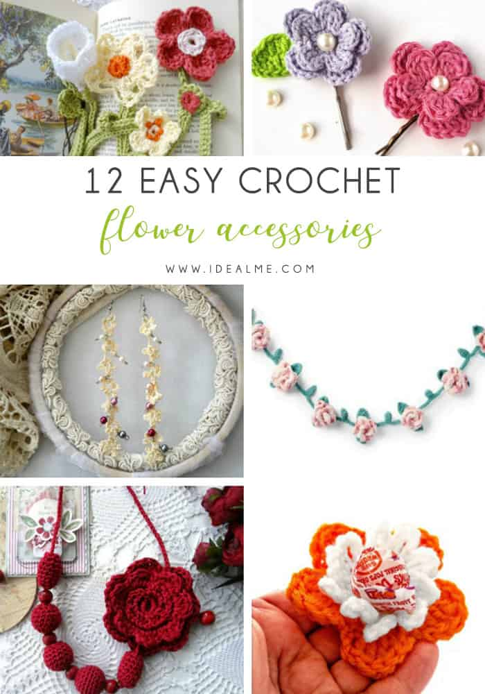 Learn how to crochet a flower and bring the magic of nature into your life with these crochet patterns.  Each one is unique and colorful. #CrochetFlowerPatterns #CrochetPatterns #FreeCrochetPatterns