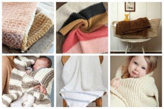 13 Adorable Knitting Patterns for Baby Blankets this Fall - These knitting patterns for baby blankets are easy and adorable you might find yourself making more than just one! #knittingpatterns #babyblanketknittingpatterns #babyblankets