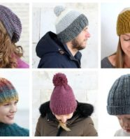 23 Easy Knitting Patterns for Hats This Autumn