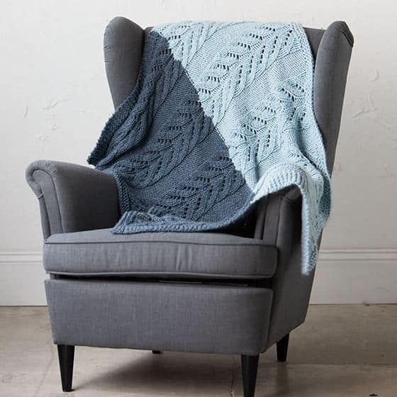 Pemberley Blanket - These knitting patterns for baby blankets are easy and adorable you might find yourself making more than just one! #knittingpatterns #babyblanketknittingpatterns #babyblankets
