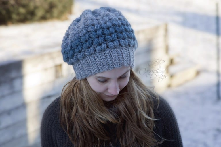 Amora Slouch Hat - These 26 crochet winter hat patterns are perfect to create a winter hat accessory that you love and can rely on. #crochetwinterhat #crochetpatterns #crochethatpatterns