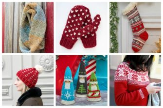11 Free Fair Isle Holiday Knit Patterns - Explore these 11 free Fair Isle holiday knit patterns that will turn your knit projects from ordinary to holiday ready! #fairisleknit #holidayknits