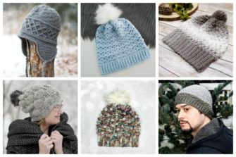26 Crochet Winter Hat Patterns - These 26 crochet winter hat patterns are perfect to create a winter hat accessory that you love and can rely on. #crochetwinterhat #crochetpatterns #crochethatpatterns